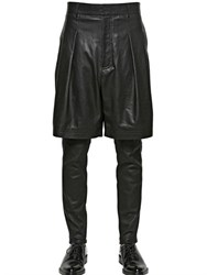 Givenchy Light Nappa Leather Bermuda Shorts