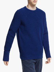 Barbour Made For Japan Tynedale Crew Jumper Inky Blue
