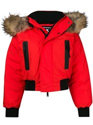 Dsquared2 Padded Down Jacket Yellow