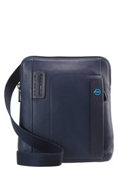 Piquadro Across Body Bag Navy Dark Blue