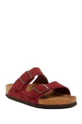 Birkenstock Arizona Soft Footbed Sandal Narrow Width Red