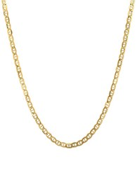 Lord And Taylor 14K Yellow Gold Rope Chain Link Necklace