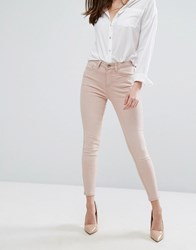 New Look Coloured Skinny Jeans Shell Pink