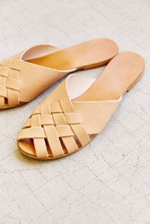 Urban Outfitters Basketweave Sandal Nude