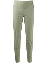 Twin Set Slim Fit Trousers Green