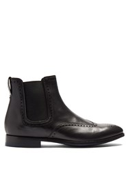 Paul Smith Bedford Leather Chelsea Boots Black