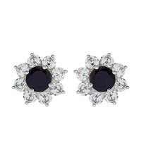 Carat Fancy Round Stud Earrings Female