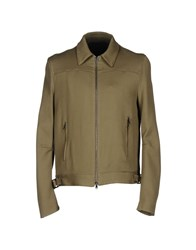 Cnc Costume National Homme Jackets Military Green