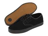 Emerica Laced Black Black Black Men's Skate Shoes
