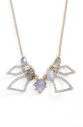 Alexis Bittar Women's Abstract Bib Necklace Crystal