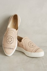 Anthropologie Seychelles So Nice Leather Sneakers Neutral