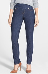 Jag Jeans 'Malia' Pull On Stretch Slim Jeans Dark Shadow