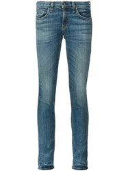 Rag And Bone Skinny Jeans Blue