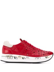 Premiata Conny Sneakers Red