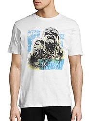 Junk Food Chewbacca Cotton Tee White