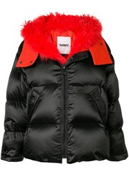 Yves Salomon Short Puffer Jacket Black