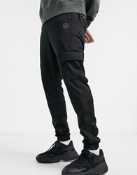 Religion Utility Joggers In Black