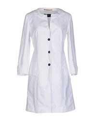 Fabrizio Lenzi Coats And Jackets Full Length Jackets Women White