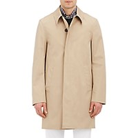 Aquascutum London Men's Slim Broadgate Raincoat Tan