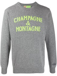 Mc2 Saint Barth Champagne Jumper Grey