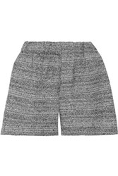 M Missoni Metallic Woven Shorts Black