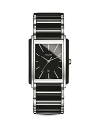 Rado Integral Ceramic Watch 31Mm Black Silver
