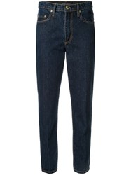 Nobody Denim Bessette Slim Fit Jeans Blue