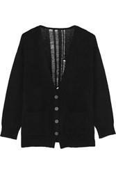 Raquel Allegra Shredded Merino Wool And Cashmere Blend Cardigan