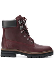 Timberland London Square 6In Boots Red