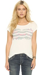 Sol Angeles Jungle Waves Tee D White