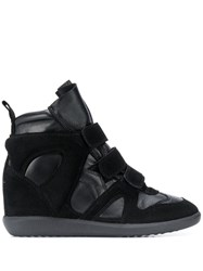 Isabel Marant Wedge Sneakers Black
