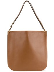 c561857079 Celine Vintage Shopper Shoulder Bag Brown