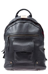 Men's Will Leather Goods 'Silas' Backpack Black