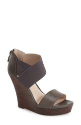Seychelles 'Unauthorized' Wedge Sandal Women Grey