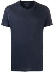 Majestic Filatures Textured Style Round Neck T Shirt 60