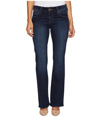 Kut From The Kloth Petite Natalie High Rise Bootcut In Beneficial Euro Beneficial Euro Women's Jeans Blue