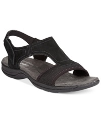 Easy Spirit Seacoast Sandals Women's Shoes Black