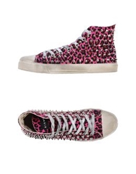 Gienchi High Tops And Trainers Fuchsia