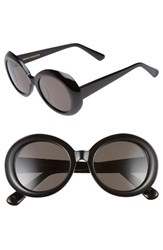Gentle Monster Women's Red Pocket 52Mm Round Sunglasses Black