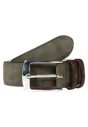 Hackett London Belt Green