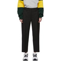 Acne Studios Black Summer Wool Ruthie Trousers