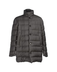 Manuel Ritz White Down Jackets Grey