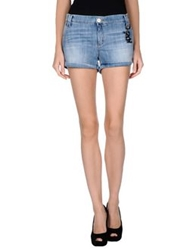 Roy Rogers Roy Roger's Denim Shorts Blue