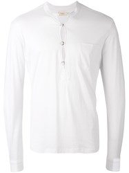 Weber Weber Mandarin Collar Shirt Men Cotton 50 White