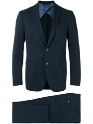 Tonello Formal Two Piece Suit Blue
