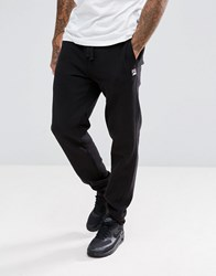 Fila Vintage Skinny Joggers With Small Logo Black