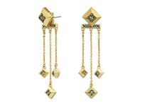 House Of Harlow The Lyra Dangle Earrings Gold Earring