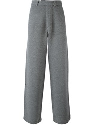 Jean Paul Gaultier Vintage Cable Knit Trousers Grey