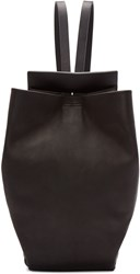 Chiyome Black Leather Sling Bag