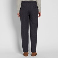 Oliver Spencer Pleat Trouser Grey